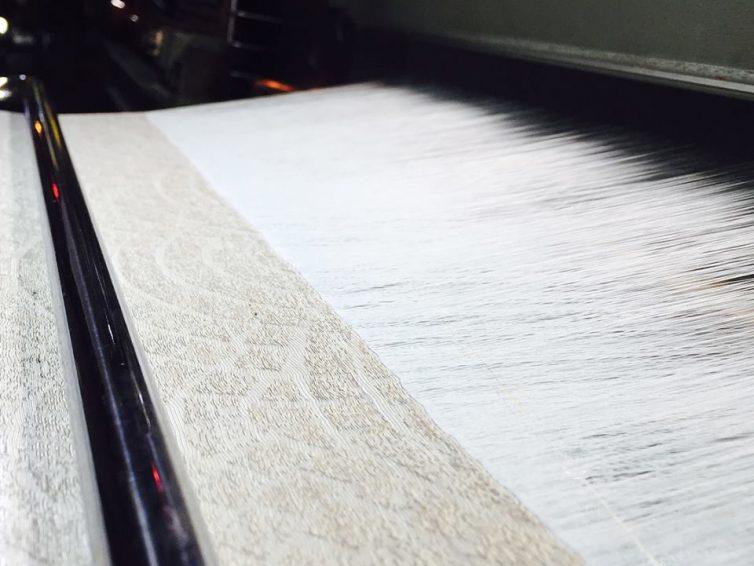 織の工程について