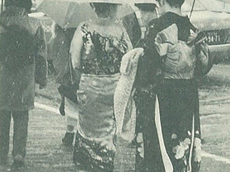 着物はっ水加工の歴史⑩(パールトーン加工)
